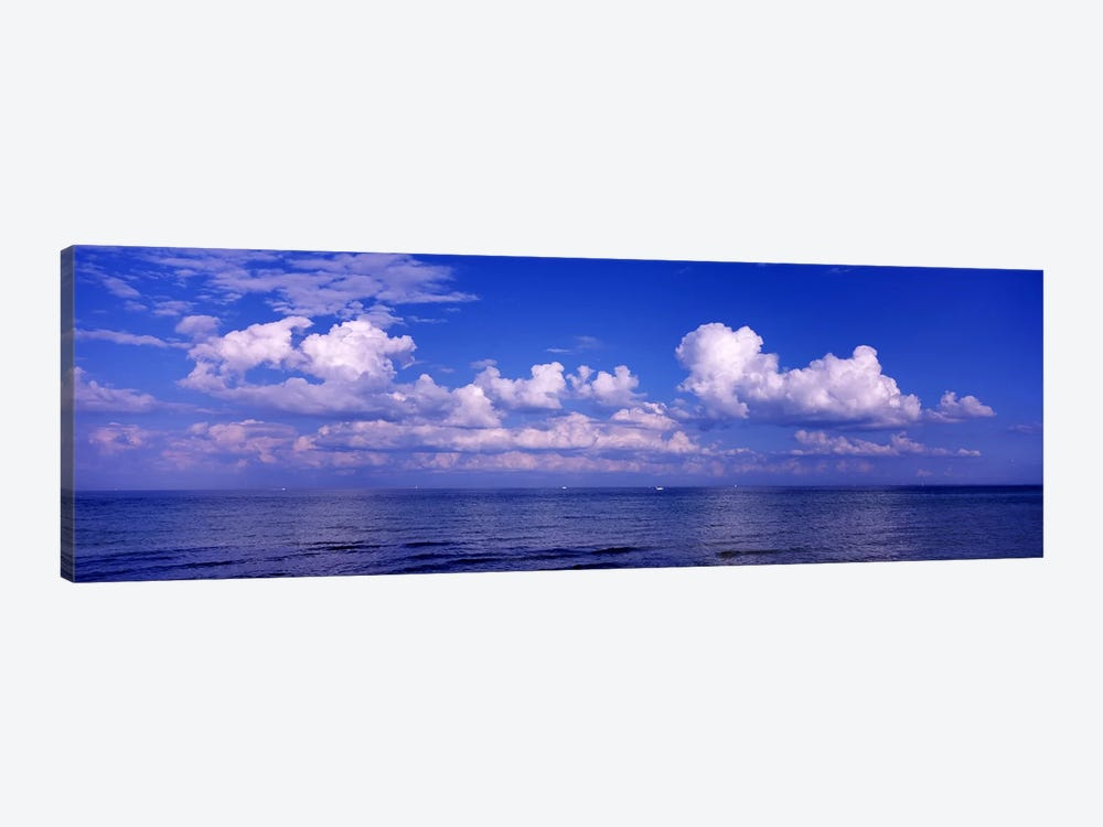 Clouds over the sea, Tampa Bay, Gulf Of Mexico, Anna Maria Island, Manatee County, Florida, USA #2 1-piece Canvas Wall Art