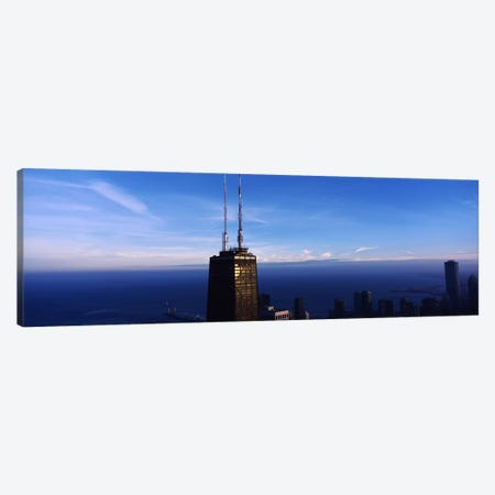 Skyscrapers in a cityHancock Building, Chicago, Cook County, Illinois, USA Canvas Print #PIM6927} by Panoramic Images Canvas Artwork