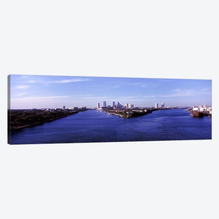 Buildings in a city, Tampa, Hillsborough County, Florida, USA Canvas Print #PIM6952} by Panoramic Images Canvas Art