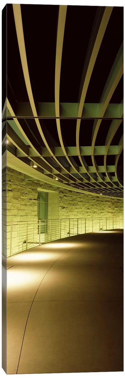 Walkway of a city hall, San Jose City Hall, San Jose, Santa Clara County, California, USA Canvas Art Print