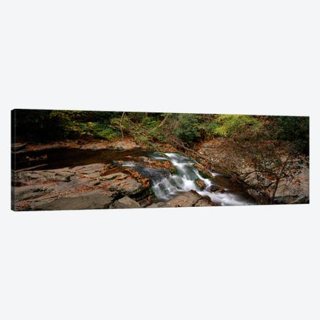 White Water The Great Smoky Mountains TN USA Canvas Print #PIM697} by Panoramic Images Canvas Artwork