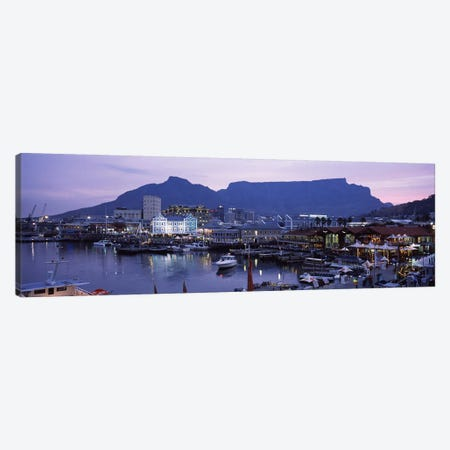 Victoria & Alfred (V&A) Waterfront, Cape Town, Western Cape Province, South Africa Canvas Print #PIM6980} by Panoramic Images Canvas Print