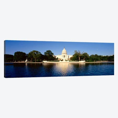 USAWashington DC, US Capitol Building Canvas Print #PIM699} by Panoramic Images Canvas Art Print