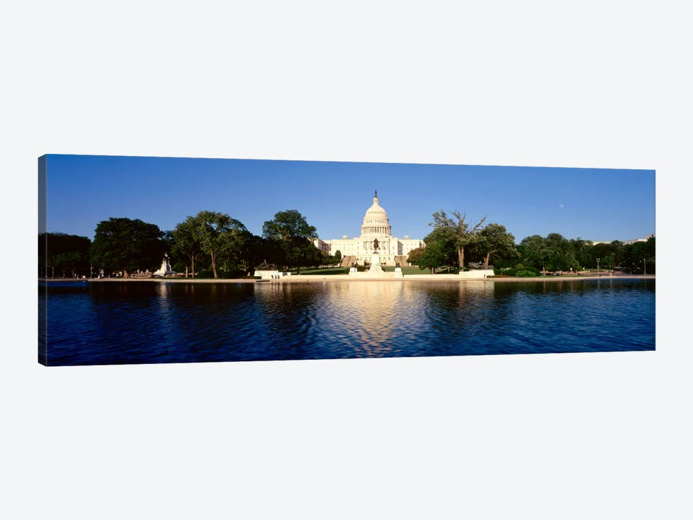 USAWashington DC, US Capitol Building by Panoramic Images 1-piece Canvas Art