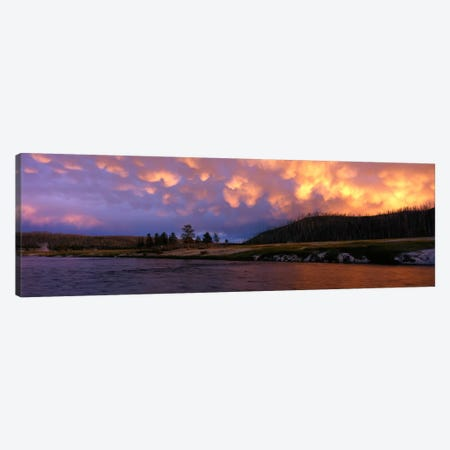 Firehole River Yellowstone National Park WY USA Canvas Print #PIM701} by Panoramic Images Canvas Art Print