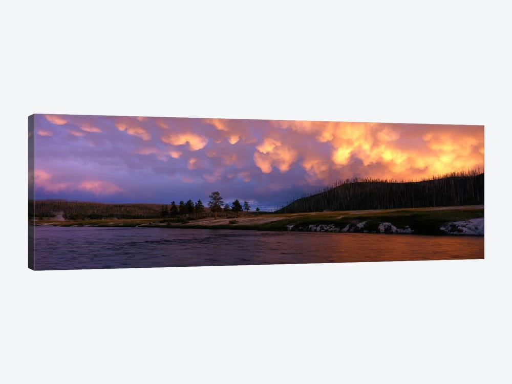 Firehole River Yellowstone National Park WY USA by Panoramic Images 1-piece Canvas Artwork