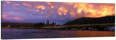 Firehole River Yellowstone National Park WY USA Canvas Art Print