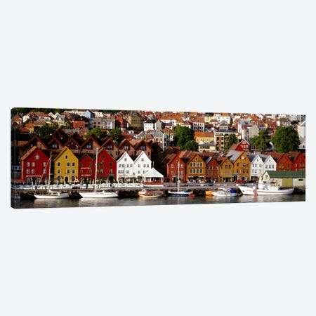 Bergen Norway Canvas Print #PIM705} by Panoramic Images Canvas Wall Art