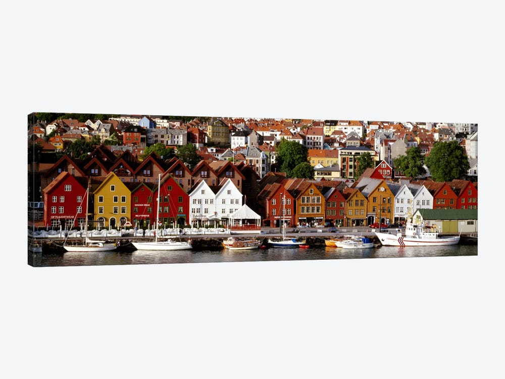 Bergen Norway by Panoramic Images 1-piece Canvas Wall Art
