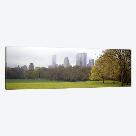 Trees in a park, Central Park, Manhattan, New York City, New York State, USA #3 Canvas Print #PIM7099} by Panoramic Images Canvas Wall Art