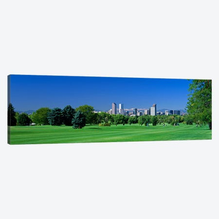 Skyline In Daylight, Denver, Colorado, USA Canvas Print #PIM70} by Panoramic Images Art Print