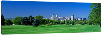 Skyline In Daylight, Denver, Colorado, USA Canvas Art Print