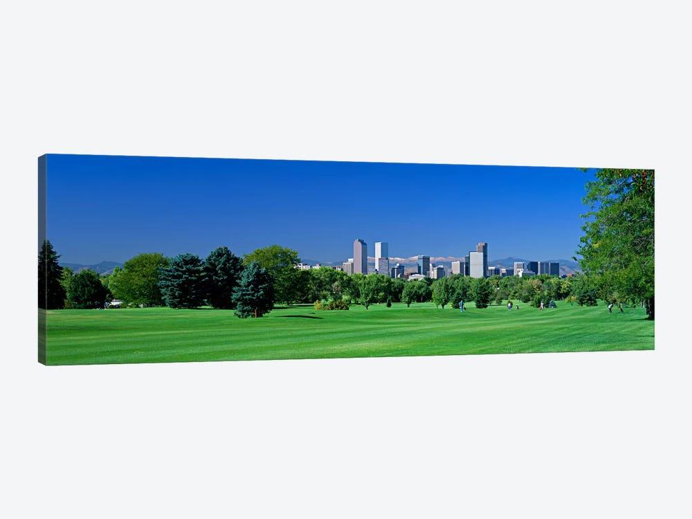 Skyline In Daylight, Denver, Colorado, USA by Panoramic Images 1-piece Canvas Art Print