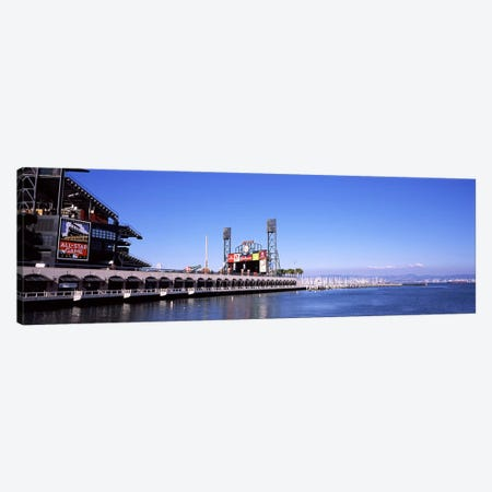 Baseball park at the waterfront, AT&T Park, San Francisco, California, USA Canvas Print #PIM7107} by Panoramic Images Art Print