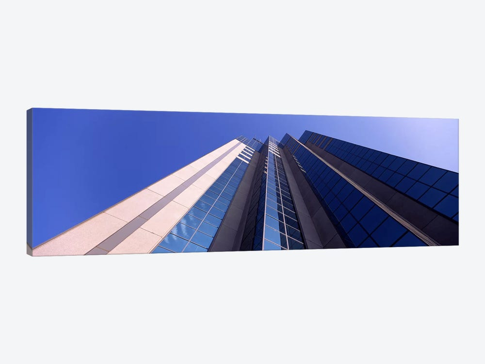 Low angle view of an office buildingSacramento, California, USA 1-piece Canvas Print