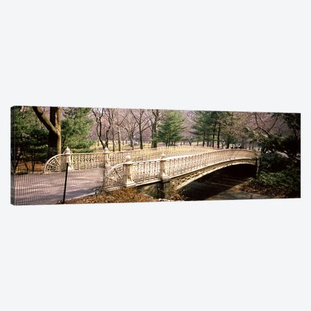 Arch bridge in a parkCentral Park, Manhattan, New York City, New York State, USA Canvas Print #PIM7126} by Panoramic Images Canvas Art Print