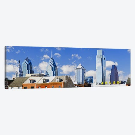 Buildings in a cityChinatown Area, Comcast Center, Center City, Philadelphia, Philadelphia County, Pennsylvania, USA Canvas Print #PIM7135} by Panoramic Images Canvas Art