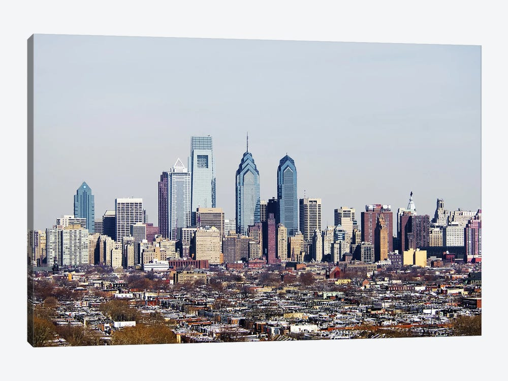 Buildings in a city, Comcast Center, Center City, Philadelphia, Philadelphia County, Pennsylvania, USA #2 1-piece Art Print