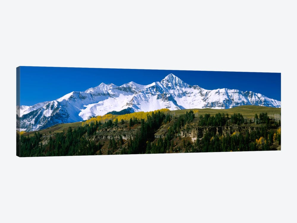 Snow-Covered Wilson Peak, Lizard Head Wilderness, Uncompahgre National Forest, San Miguel County, Colorado, USA by Panoramic Images 1-piece Canvas Print