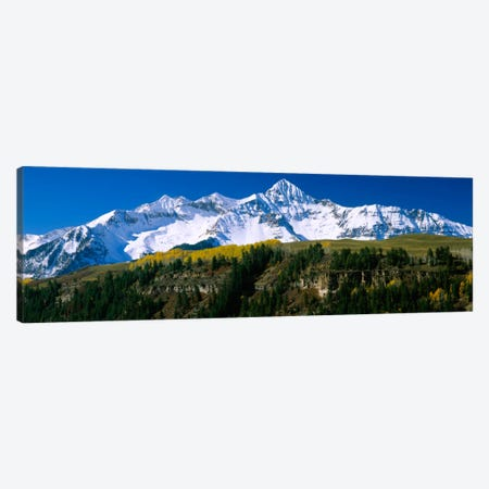 Snow-Covered Wilson Peak, Lizard Head Wilderness, Uncompahgre National Forest, San Miguel County, Colorado, USA Canvas Print #PIM713} by Panoramic Images Canvas Artwork
