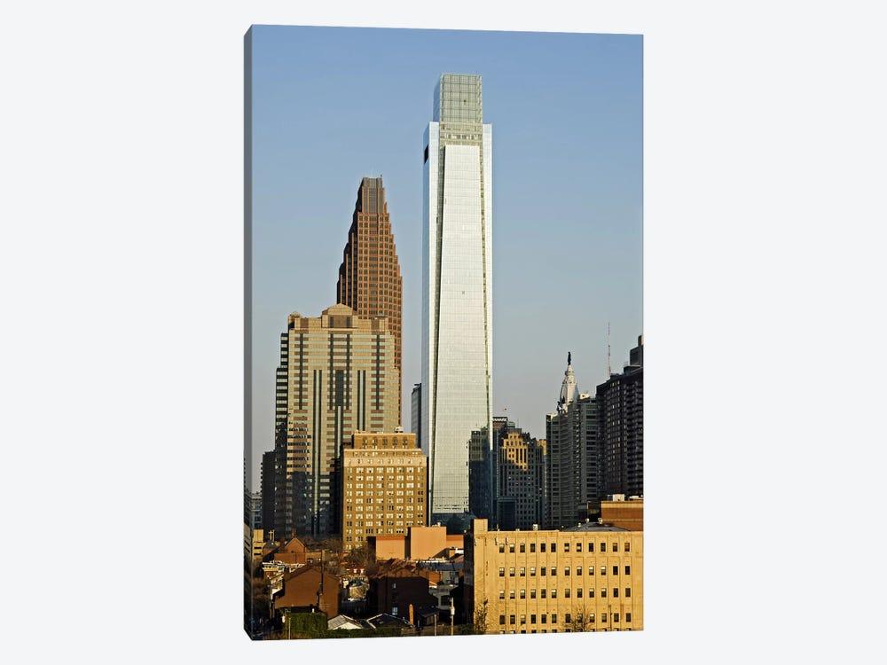 Comcast Center, City Hall, William Penn Statue, Center City, Philadelphia, Philadelphia County, Pennsylvania, USA by Panoramic Images 1-piece Art Print