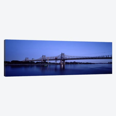 Bridge across a river, Queensboro Bridge, East River, Manhattan, New York City, New York State, USA #2 Canvas Print #PIM7153} by Panoramic Images Canvas Art Print