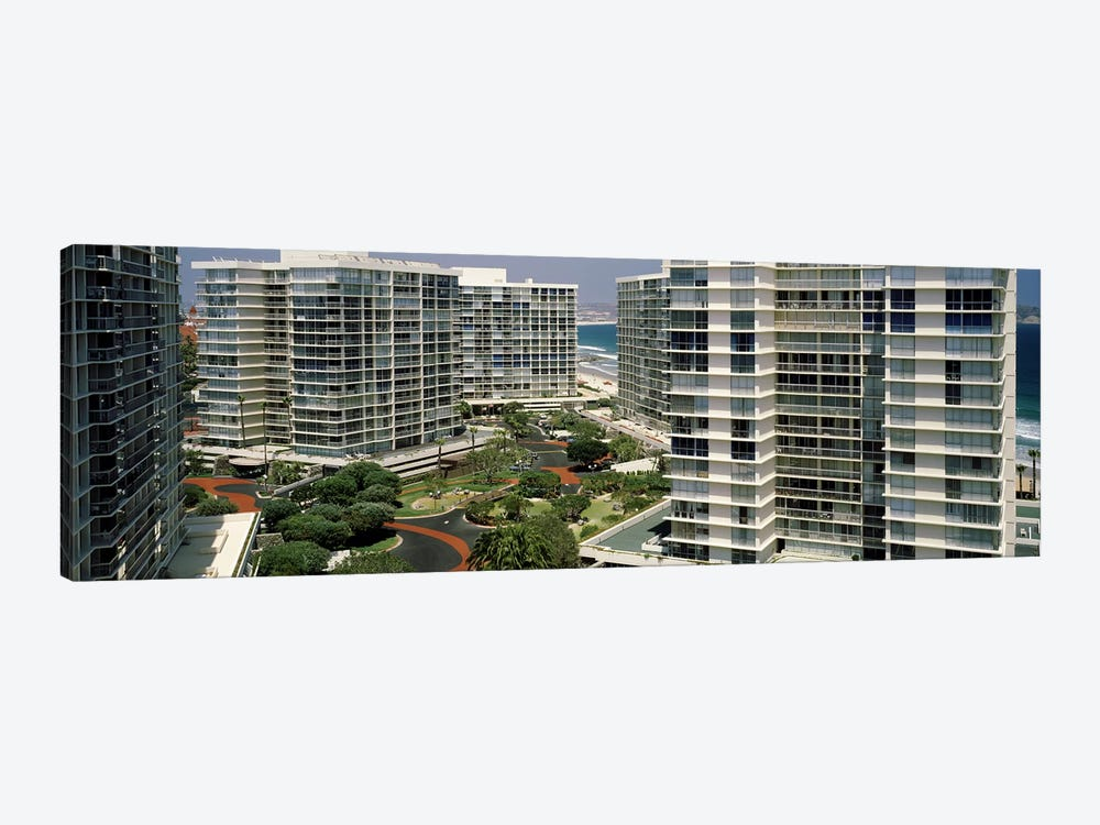 Condos in a city, San Diego, California, USA by Panoramic Images 1-piece Canvas Print