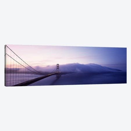 Bridge across the sea, Golden Gate Bridge, San Francisco, California, USA Canvas Print #PIM7182} by Panoramic Images Canvas Artwork