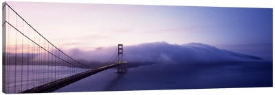 Bridge across the sea, Golden Gate Bridge, San Francisco, California, USA Canvas Art Print