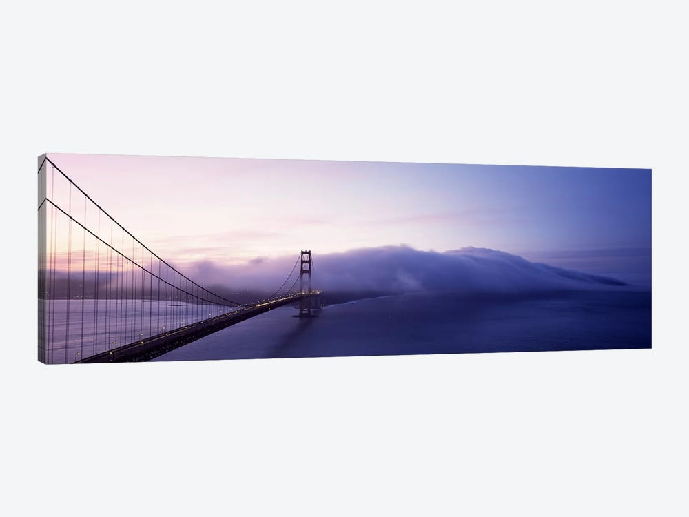 Bridge across the sea, Golden Gate Bridge, San Francisco, California, USA by Panoramic Images 1-piece Art Print