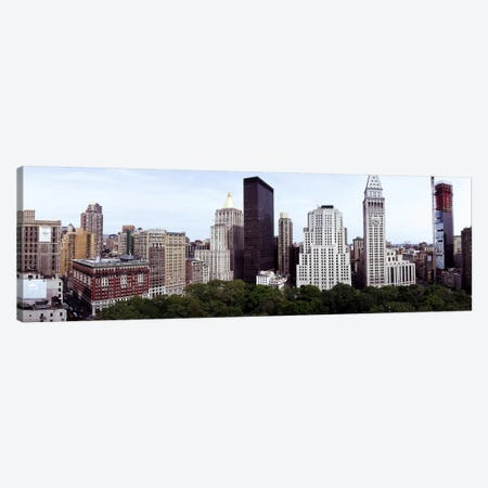 Skyscrapers in a city, Madison Square Park, New York City, New York State, USA Canvas Print #PIM7188} by Panoramic Images Canvas Wall Art