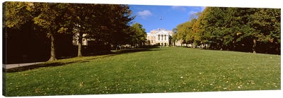 Lawn in front of a building, Bascom Hall, Bascom Hill, University of Wisconsin, Madison, Dane County, Wisconsin, USA Canvas Print #PIM7194