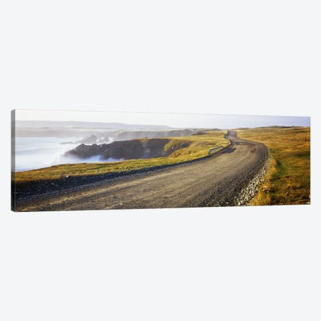 Coastal Landscape, Cape Bonavista, Newfoundland, Newfoundland and Labrador, Canada Canvas Print #PIM7212} by Panoramic Images Canvas Wall Art
