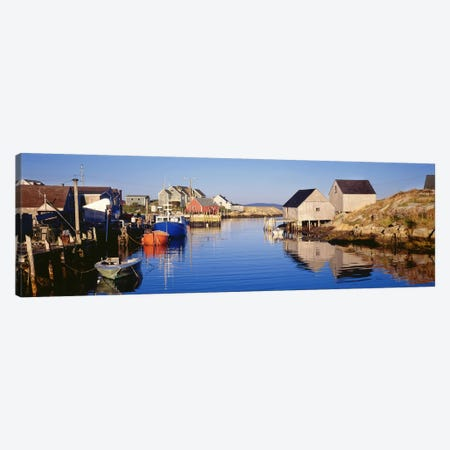 Cove View, Peggy's Cove, Halifax, Nova Scotia, Canada Canvas Print #PIM7219} by Panoramic Images Canvas Wall Art