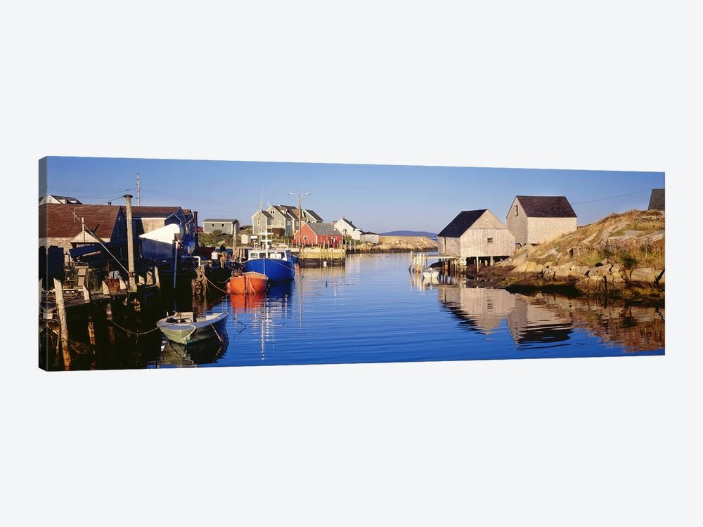 Cove View, Peggy's Cove, Halifax, Nova Scotia, Canada by Panoramic Images 1-piece Canvas Art Print