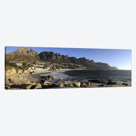 Camps Bay And The Twelve Apostles, Cape Town, Western Cape, South Africa Canvas Print #PIM7224} by Panoramic Images Canvas Wall Art