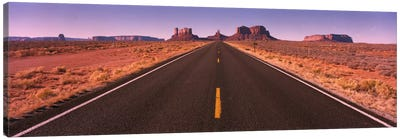 Road Monument Valley AZ USA Canvas Print #PIM722