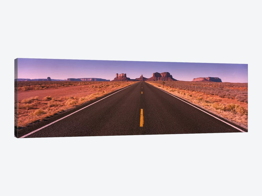 Road Monument Valley AZ USA by Panoramic Images 1-piece Canvas Art Print