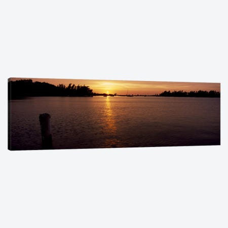 Sunrise over the sea, Bermuda Canvas Print #PIM7236} by Panoramic Images Canvas Art Print