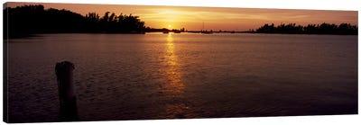Sunrise over the sea, Bermuda Canvas Print #PIM7236