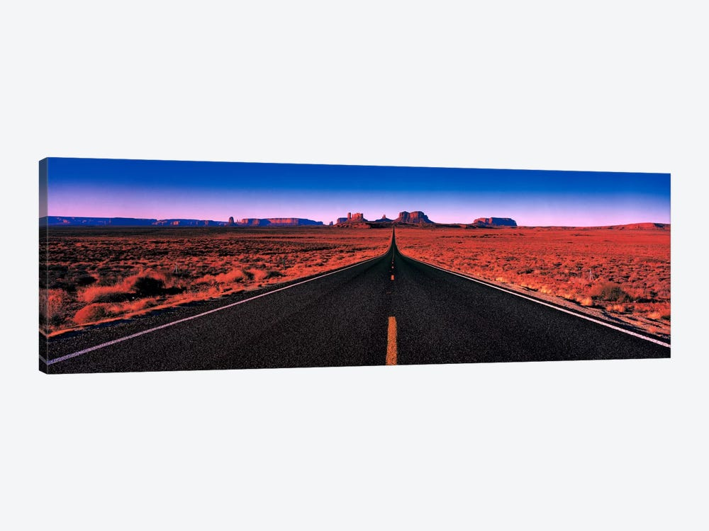 Road Monument Valley Tribal Park UT USA by Panoramic Images 1-piece Canvas Art