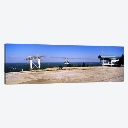 Overhead cable car on a mountainStone Mountain, Atlanta, Georgia, USA Canvas Print #PIM7254} by Panoramic Images Art Print
