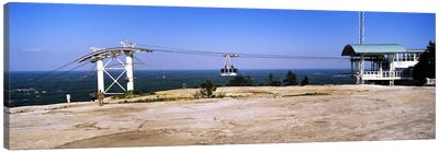 Overhead cable car on a mountainStone Mountain, Atlanta, Georgia, USA Canvas Print #PIM7254