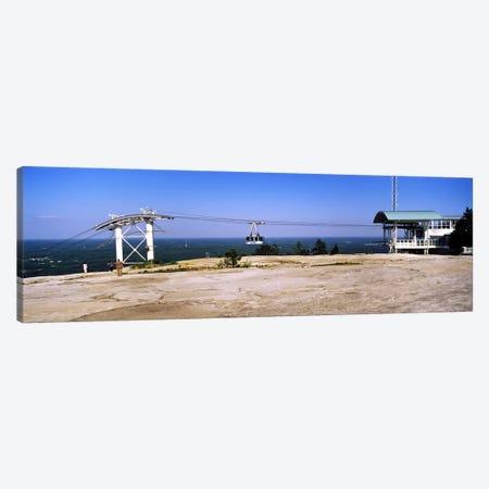 Overhead cable car on a mountainStone Mountain, Atlanta, Georgia, USA 3-Piece Canvas #PIM7254} by Panoramic Images Art Print