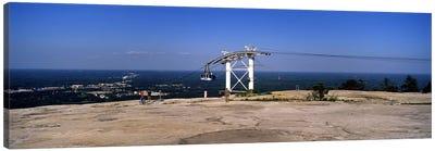 Overhead cable car on a mountain, Stone Mountain, Atlanta, Georgia, USA Canvas Print #PIM7256