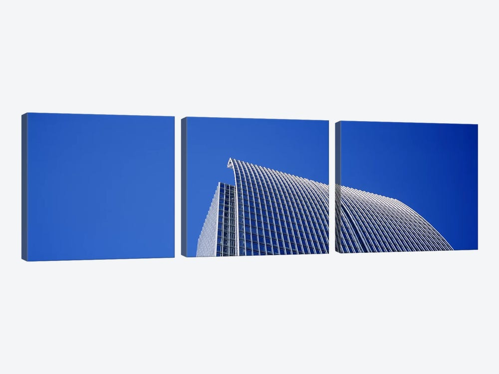 Symphony Tower I, 1180 Peachtree Street, Atlanta, Fulton County, Georgia, USA by Panoramic Images 3-piece Canvas Art Print