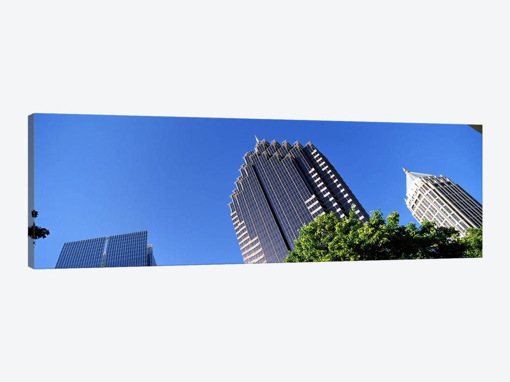 Skyscrapers in a city, Atlanta, Fulton County, Georgia, USA by Panoramic Images 1-piece Canvas Wall Art