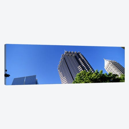 Skyscrapers in a city, Atlanta, Fulton County, Georgia, USA Canvas Print #PIM7265} by Panoramic Images Canvas Artwork