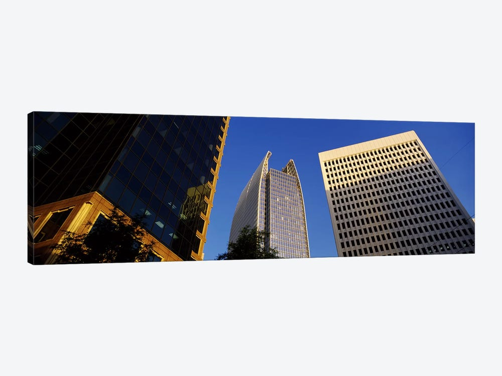 Skyscrapers in a city, Atlanta, Fulton County, Georgia, USA #2 by Panoramic Images 1-piece Canvas Print