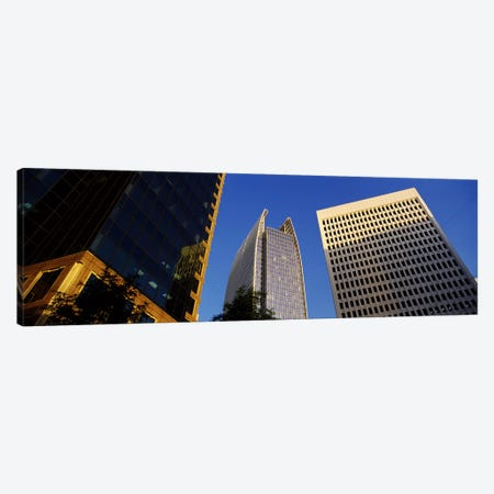 Skyscrapers in a city, Atlanta, Fulton County, Georgia, USA #2 Canvas Print #PIM7266} by Panoramic Images Canvas Artwork